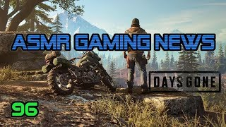 ASMR Gaming News (96) Hitman 2, Days Gone, Fortnite, Fallout 76, Crackdown 3, Just Cause 4, DMC5 +
