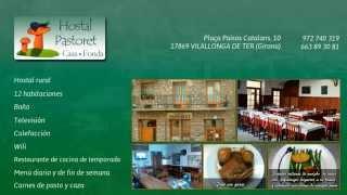 Hostal rural en Vilallonga de Ter, Girona. Hostal Pastoret