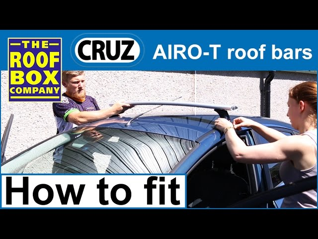 Cruz Airo T St Roof Bars How To Fit Youtube