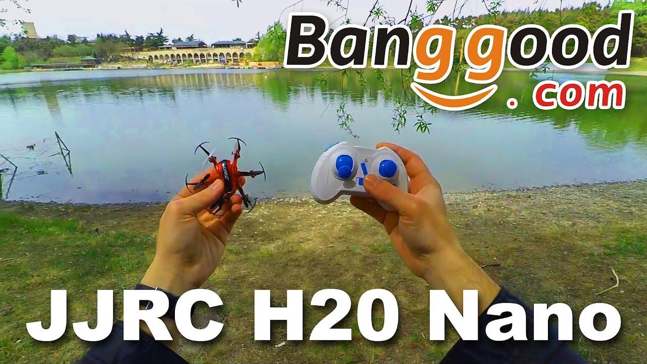 JJRC H20 Nano ჰექსაკოფტერის განხილვა
