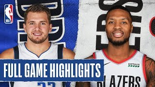 MAVERICKS at TRAIL BLAZERS | FULL GAME HIGHLIGHTS | January 23, 2020