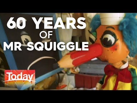 Mr Squiggle Turns 60 | TODAY Show Australia