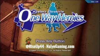 Mystery Chronicle One Way Heroics by Spike Chunsoft Gameplay Part 1