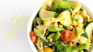 Stripey Pasta Salad | しましま野菜パスタサラダ