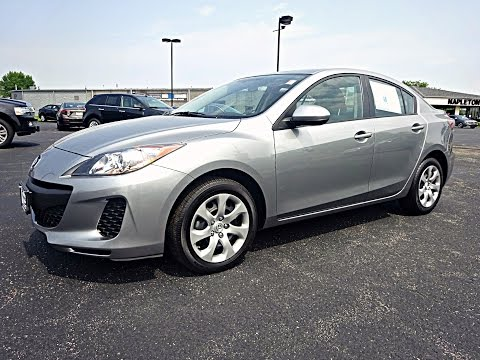 used 2013 silver mazda mazda3 i sv youtube. Black Bedroom Furniture Sets. Home Design Ideas