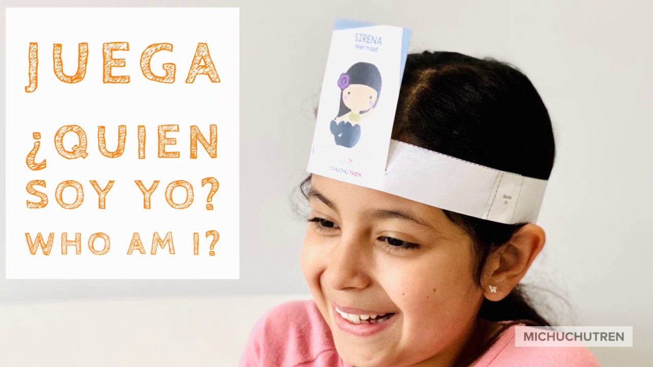 Michuchutren En Casa Juego Quien Soy Yo Game Who Am I Educational Resource For Children Youtube