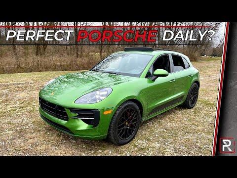 The 2021 Porsche Macan GTS is a Porsche's Idea of a Perfect Everyday SUV