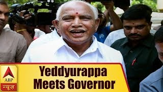 Karnataka Results: Yeddyurappa Meets Governor; Swearing-Ceremony Tomorrow, Says Sources | ABP News
