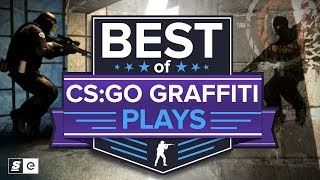 Best of the Iconic CS:GO Graffiti Plays