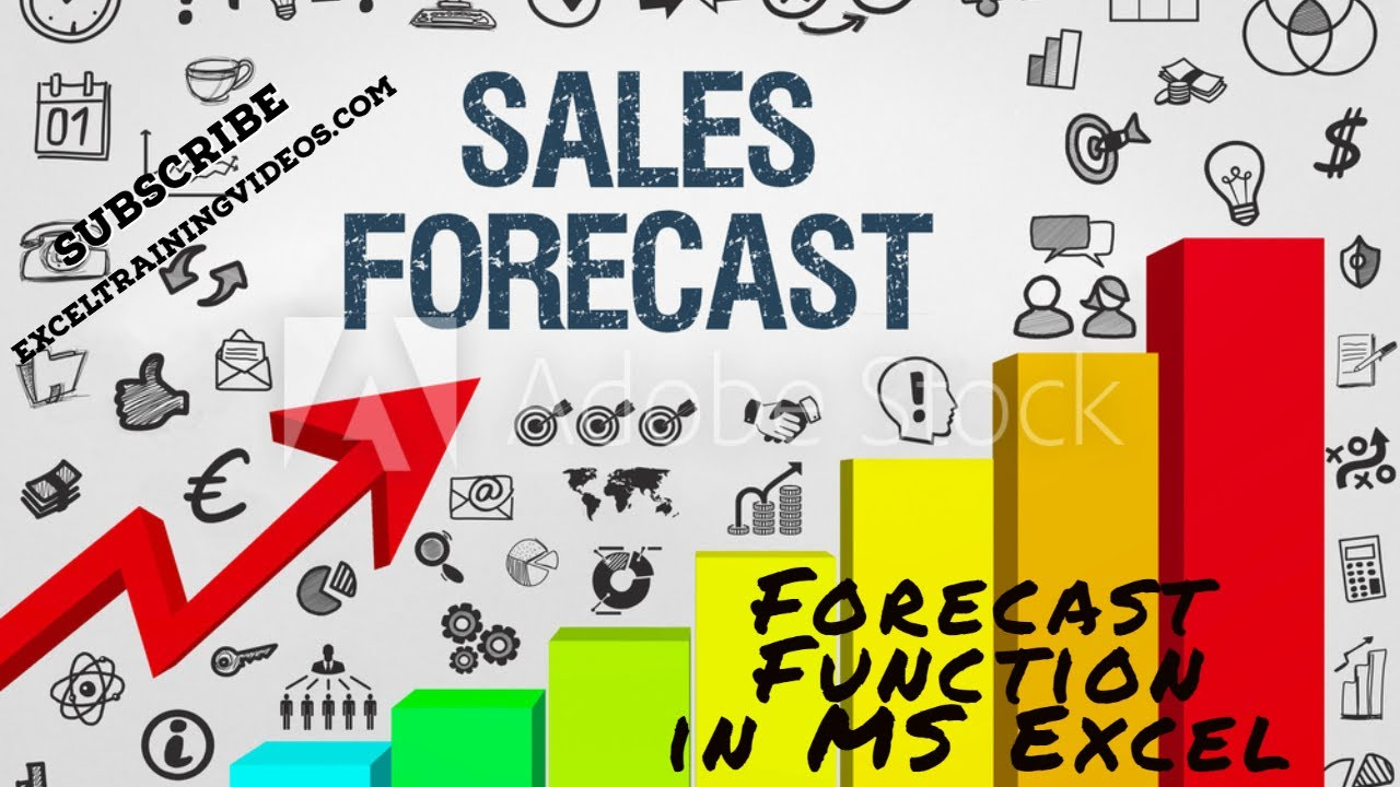 Forecast Function in MS Excel