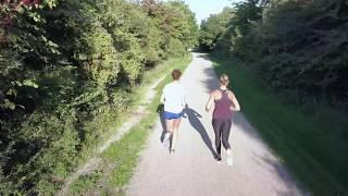 T-squared Running in the park - DJI Mavic Pro