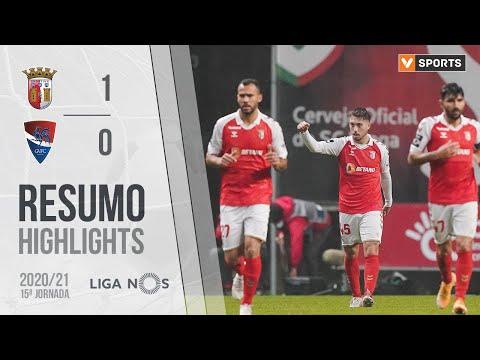 Braga Gil Vicente Goals And Highlights