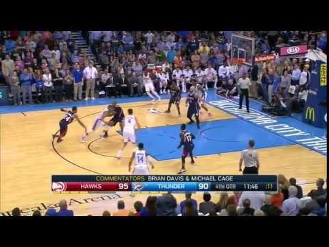 Atlanta Hawks Vs Oklahoma City Thunder   Full Match HighLight   March 20, 2015