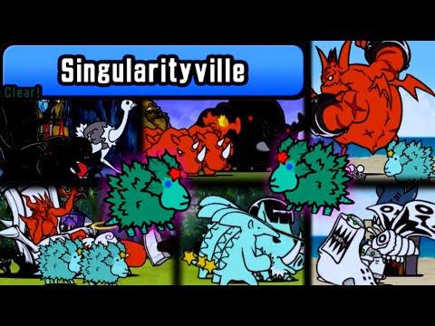 The Battle Cats - SpeedRun through Singularityville (6.9 Update)
