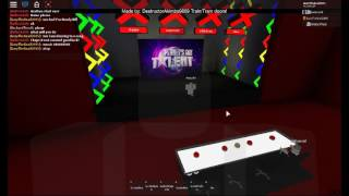 Noody Bill can nuh nuh back to NOODY LAND! | Auditions 1 | Got Talent ROBLOX 2017