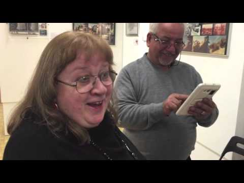 A visit with Robert Watts and Patricia Carr