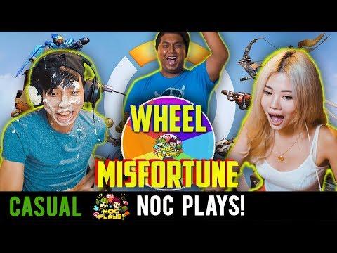 NOC Plays: WHEEL OF MISFORTUNE (Overwatch)