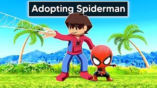 Adopting SPIDERMAN In GTA 5!