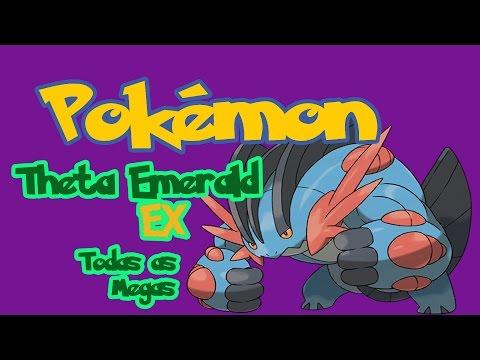 Pokémon Theta Emerald Ex Update: Localização de todas as Mega Stones