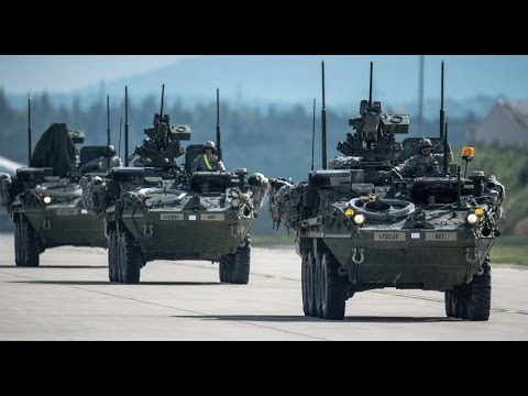 US Army Convoy Enters Czech Republic for Saber Strike Drills