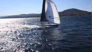 INFINITI YACHTS with Dynamic Stability System - Sailing Super yacht video