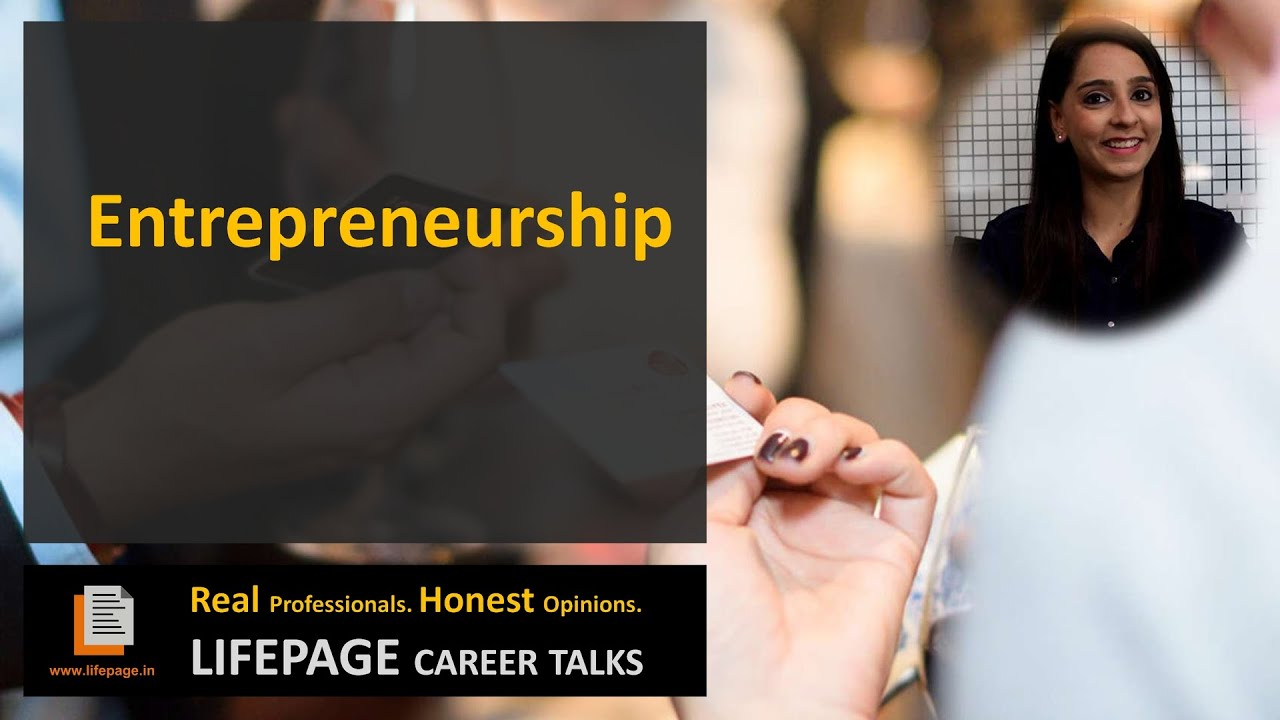 LifePage Career Talk on Entrepreneurship