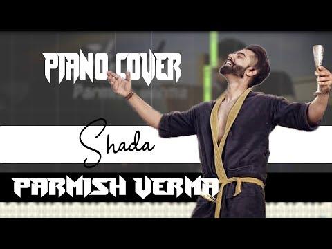 Shada (Piano tutorial) | Parmish Verma | Punjabi Song | Free MIDI and Audio file
