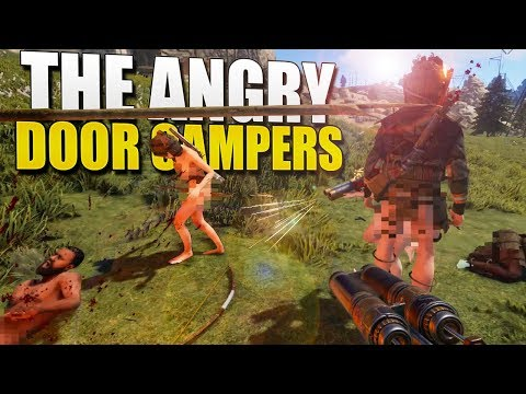 ANGRY DOOR CAMPERS Get TRIPLE CLIPPED (Rust Survival) #135