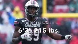 Bryan Edwards//WR//2020 NFL Draft Prospect