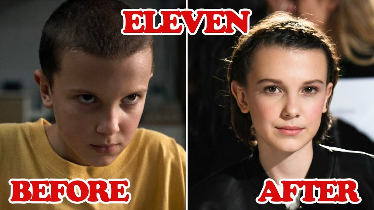 Stranger Things ★ Before And After 2018