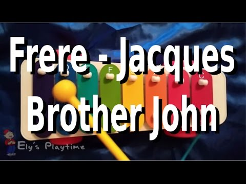 how to play frere jacques brother john on the kids xylophone youtube. Black Bedroom Furniture Sets. Home Design Ideas