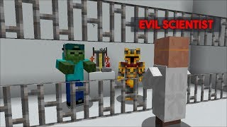 MC NAVEED AND MARK FRIENDLY ZOMBIE ARE IN PRISON FROM AN EVIL SCIENTIST!! ESCAPE PRISON!! Minecraft