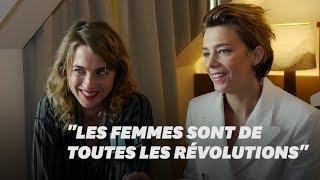 """""""Un peuple et son roi"""": Adèle Haenel et Céline Sallette parlent des femmes dans la Révolution"""