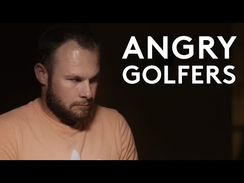European Tour Golfers In Anger Management Group Therapy