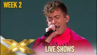 Kevin McHale: WOWS Singing Simon Cowell's Son Fav Song!!😲 | The X Factor 2019: Celebrity