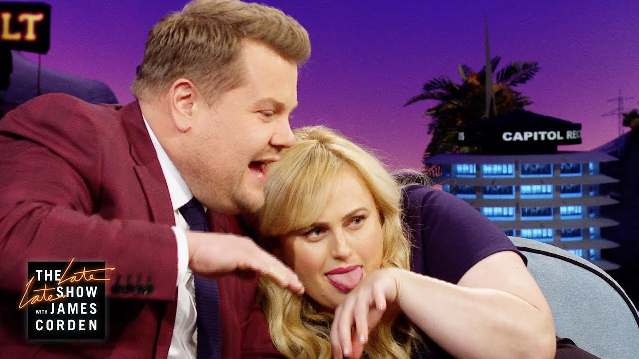 Rebel Wilson & James Corden Are Two Cool 'Cats'