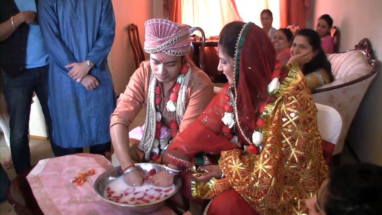 Nakul and jankee wedding invitations