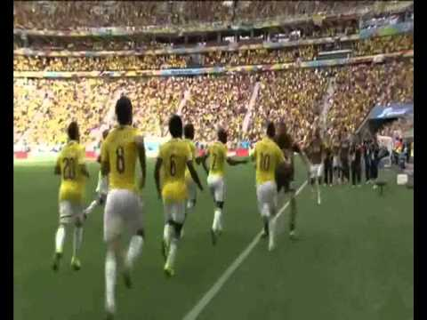 2014 World Cup Group C: Colombia v Ivory Coast