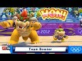 Mario & Sonic At The London 2012 Olympic Games Beach Volleyball #126 Bowser & Bowser Jr (CPU HARD