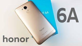 РАСПАКОВКА Huawei Honor 6A - КОНКУРЕНТ Redmi 4X ОТ Huawei