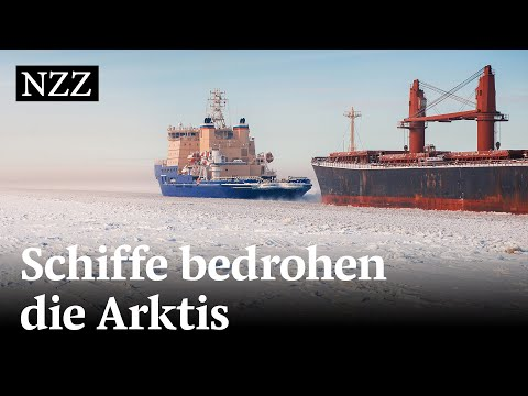 Schifffahrt in der Arktis: Wie der Russ das Eis schmelzen lässt