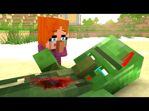 Villager Life 3 - Minecraft Animation - Видео из Майнкрафт (Minecraft)