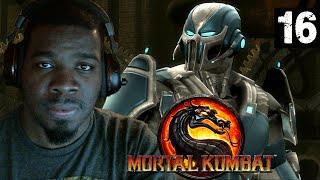 Mortal Kombat 9 Gameplay Walkthrough Part 16 - Cyber Sub-Zero + Kintaro & Goro - Mortal Kombat 9