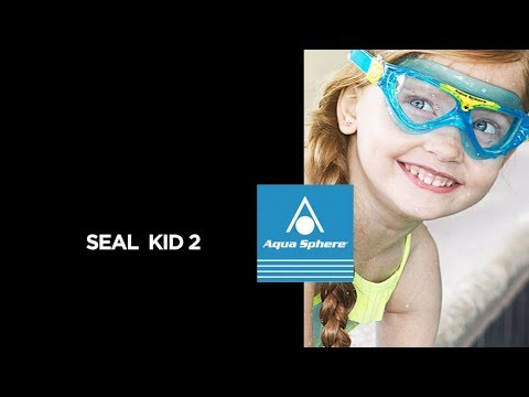 4015173d552 Aqua Sphere Swim Goggles - Seal Kid 2 - YouTube