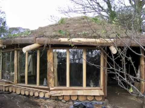 Youtube How To Build A Cordwood House