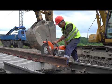 Строительство Лужского железнодорожного узла 2020 год