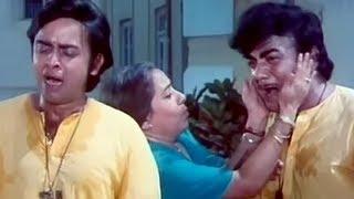 Ghar Se Nikal Diya - Comedy Scene - Do Phool - Ashok Kumar, Mehmood, Vinod Mehra