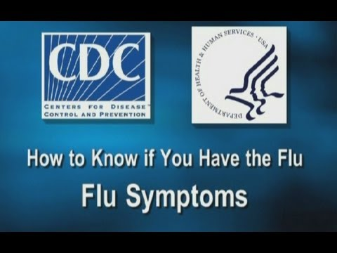 How to Know if You Have the Flu: Flu Symptoms