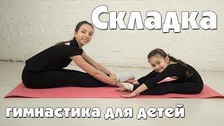 Упражнение Складка. Гимнастика для детей
