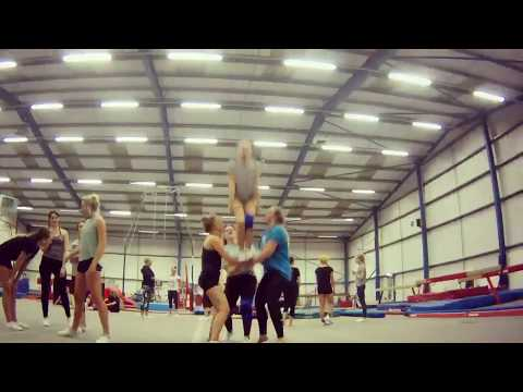 Plymouth Storm Cheerleading Training Session